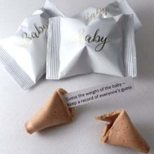 baby shower fortune cookies