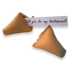be my bridesmaid fortune cookies