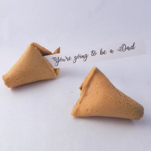 pregnancy announcement fortune cookies
