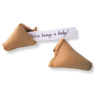 we're having a baby fortune cookies